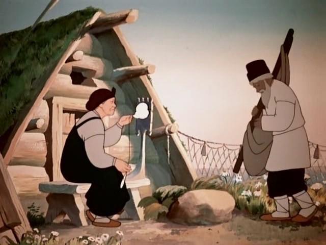 мультфильмы советские о рыбаке и рыбке